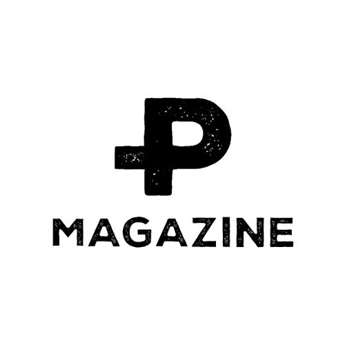P MAGAZINE Logo Design