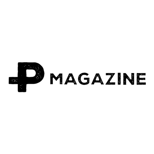 P MAGAZINE Logo Design